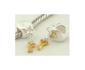 """Prívesok na náramok """"Key of Heart"""" 925 Šterlingové striebro"""