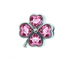 """Prívesok na náramok """"Pink Flower"""" 925 Šterlingové striebro"""