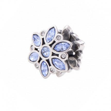 """Prívesok na náramok """"Blue Flower"""" 925 Šterlingové striebro"""