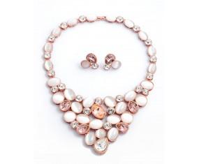 Luxusní náhrdelník s náušnicami