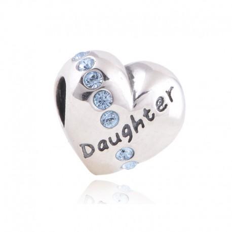 """Prívesok na náramok """"For my Daughter"""" 925 Šterlingové striebro"""