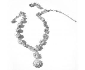 """Súprava """"Marquise"""" (náhrdelník s náušnicami)"""