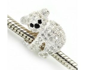 """Prívesok na náramok """"Cute Koala"""" 925 Šterlingové striebro"""