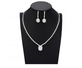 """Svadobná súprava """"Du Barry"""" (náhrdelník, náušnice)"""