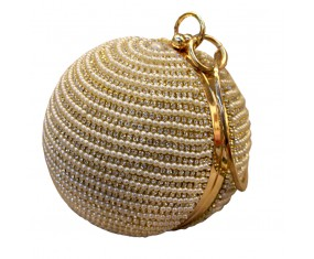 "Dámská kabelka ""Beaded balloon"" zlatá"