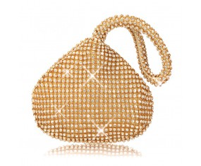 """Zlatá večerná kabelka """"Smal Bag"""""""