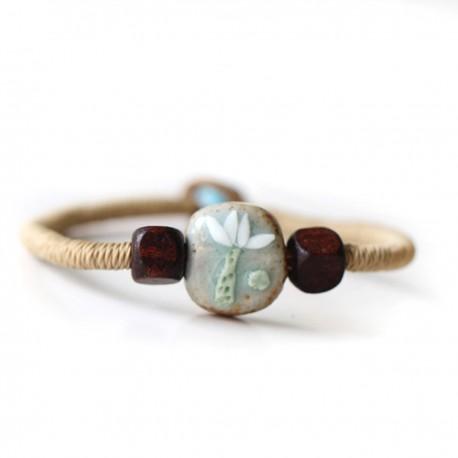 """Náramok Bali Beads """"Frangipani"""""""