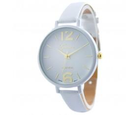 Dámske hodinky s bielym pásikom