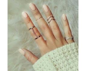 """Sada prstienkov """"Aurora silver"""""""