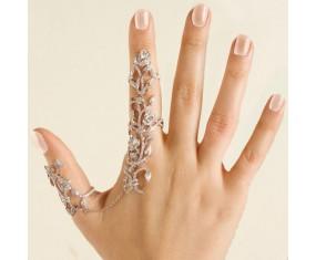 """Sada prstienkov """"Douha Flower"""" Silver"""