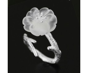 """Strieborný prsteň """" Apple Tree Blossom"""""""