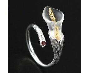 """Strieborný prsteň """"Apple Tree Blossom"""""""