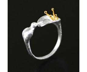 """Strieborný prsteň """"Silver Blossom"""""""