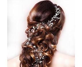"""Svadobná ozdoba do vlasov """"Lovely Tiara"""" Silver"""