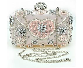 """Spoločenská kabelka """"Pale Pink"""""""