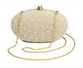 "Malá spoločenská večerná kabelka ""From Pearls"""