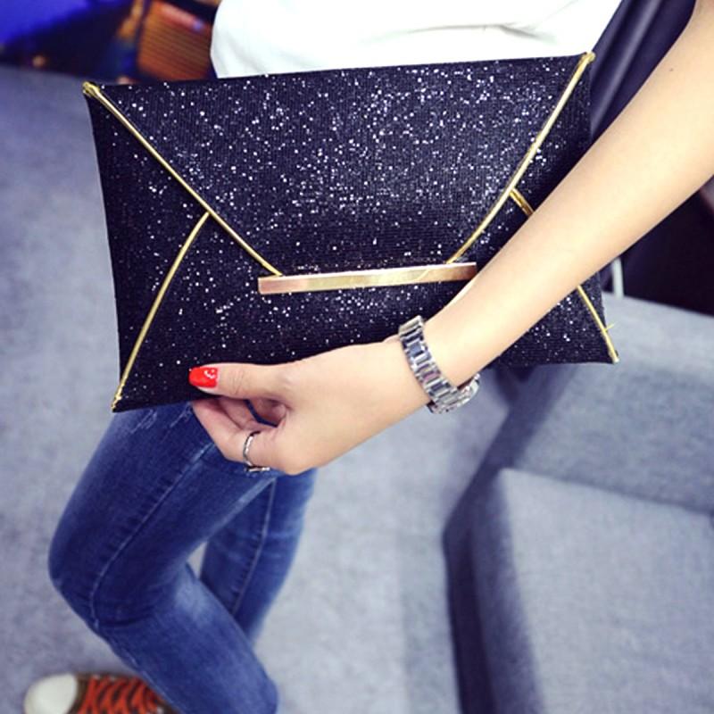 cdca0e2fd8bc ... Malá spoločenská dámska listová kabelka-čierna