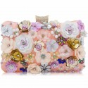 "Luxusná spoločenská kabelka ""Flower Bed"""
