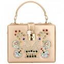 """Luxusná spoločenská kabelka-zlatá """"BB"""""""