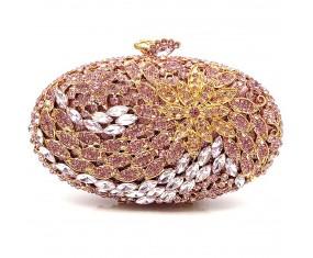 """Luxusná večerná kabelka """"Purple Diamond"""""""