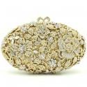 """Luxusná zlatá večerná plesová kabelka """"Beauty Light"""""""