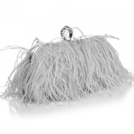 """Luxusná večerná kabelka """"Feather Dream"""""""