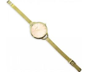 Náramkové hodinky zlatej farby, dámske