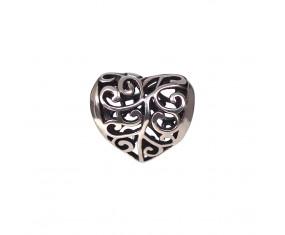 """Prívesok na náramok """"Knitted Heart"""" 925 Šterlingové striebro"""