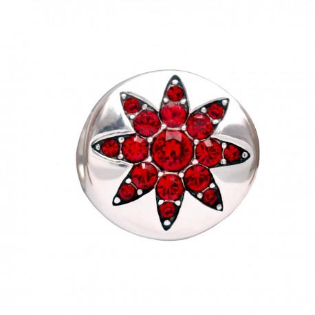 """Prívesok na náramok """"Red Star"""" 925 Šterlingové striebro"""