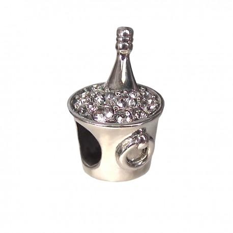 """PPrívesok na náramok """"My Luxury Champagne"""" 925 Šterlingové striebro"""