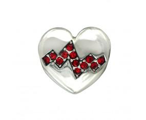 """Prívesok na náramok """"Heart of Life"""" 925 Šterlingové striebro"""