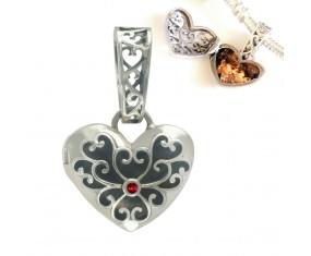 """Prívesok na náramok """"Secret Heart"""" 925 Šterlingové striebro"""